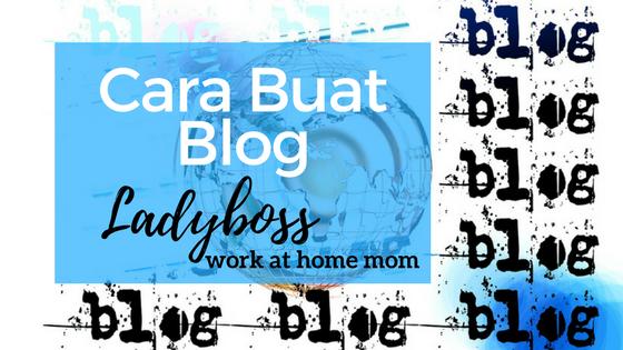 Pindah Blogspot ke WordPress - Cara Buat WordPress Blog