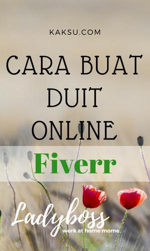 Buat Duit Online Fiverr
