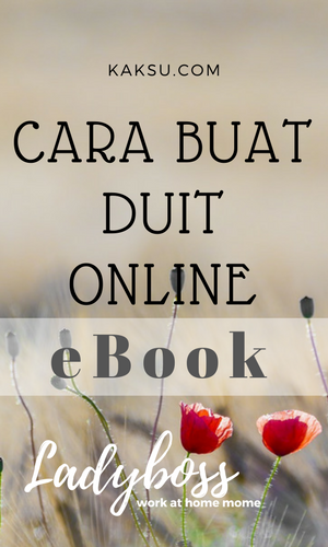 Buat duit dengan blog -ebook