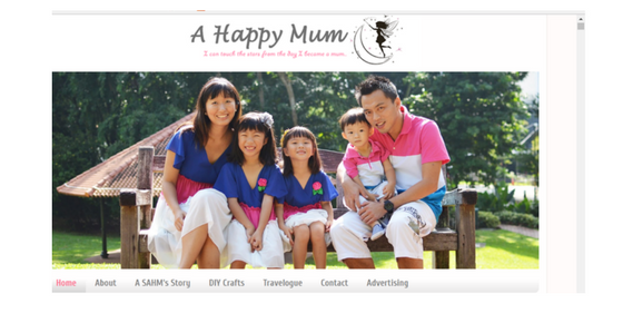 Mommy's Blog - A Happy Mum