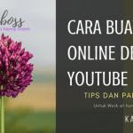 Cara Buat Duit Online Dengan YouTube Yang Boleh Di Lakukan Santai2 Dari Rumah