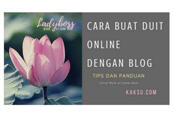 5 cara buat duit dengan blog
