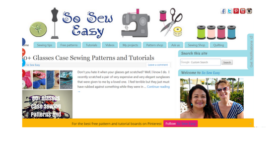 Craft / DIY Blog - So Sew Easy
