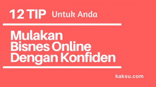 12 Tip Mulakan Bisnes Online