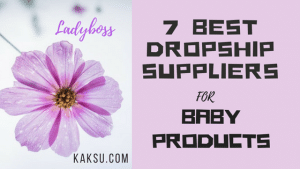 Dropship Suppliers _ for Baby Products