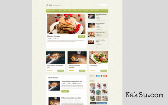 Petit -WordPress Theme-Untuk Affiliate Marketing