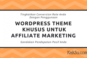 WordPress Theme Untuk Affiliate Marketing