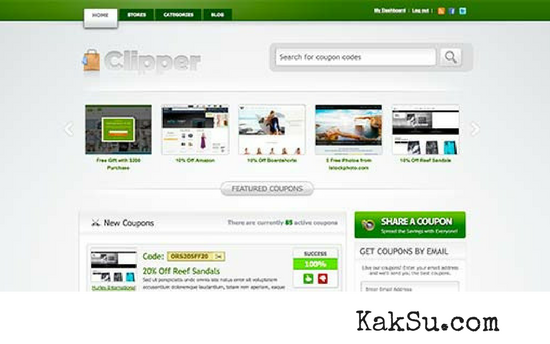 Clipper - WordPress Them Untuk Affiliate Marketing
