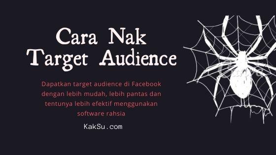 Blog Image - Cara Nak Target Audience